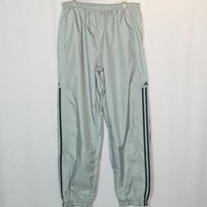 Adidas Windbreaker Athletic Jogger Pants Sz XL
